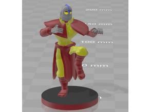 Iron Giant Warforged Monk
