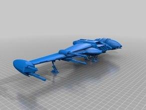 B-wing (star war legion scale)