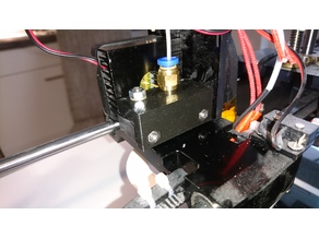 Anet A6 bowden extruder holding plate