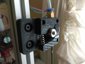 Bowden Extruder (2020 Extrusion)