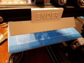 Ender-2 X-Axis LED Screwless Mount