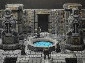 ScatterBlocks: Dwarven Statue (Heroic Scale)