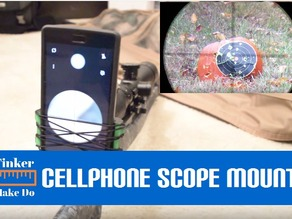 Cell Phone Scope Mount