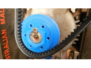 Split/Adjustable V Belt Pulley