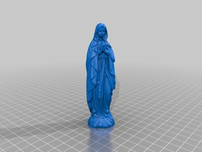 Mother Mary Statue 2 (3D Scan)