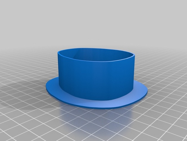 Oval template for needle felting by balassy - Thingiverse