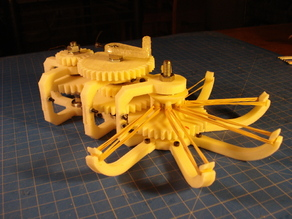Rubber Band Gear Mechanism