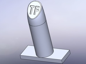 LIPSTICK TOM FORD 3D MOLD