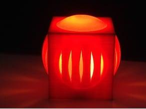 geometric lamp 1