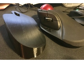 Elecom Huge Trackball mouse ergonomic stand