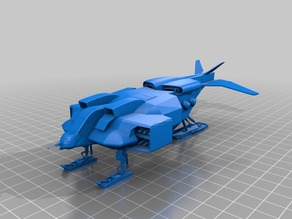 Colonial Marines Dropship (weapons pods not deployed)