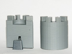 Parametric Turret for Modular Castle Playset