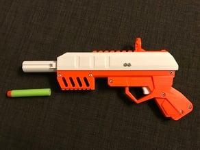 Foam Dart GUN (pullback loading)