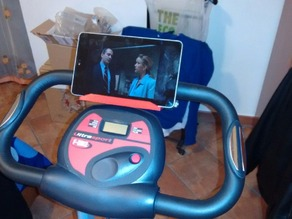 Phone/tablet stand for Ultrasport Cyclette