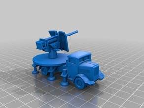 Lancia Cannone da 90/53 - 1/100 Scale