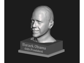 President Obama - Facescan Bust
