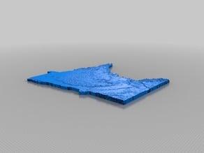 3D Topo: Minnesota