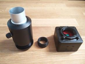 Amscope to camera module adapter