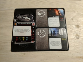 X-wing 2.0 card tray