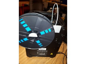 Makerbot Mini large spool holder