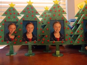 Christmas Tree Photo Frame Ornament