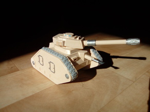 Anti-tank upgrade for 28mm battle tank