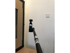DJI Osmo Pocket - Trekking Pole Selfie Stick Mount