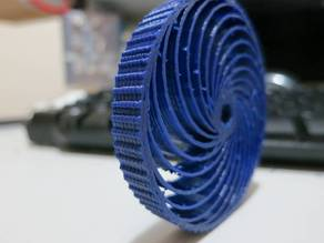 Parametric airless tire