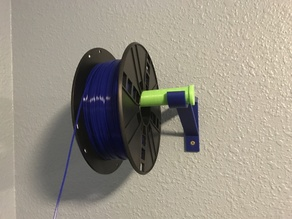 Wall mount spool holder