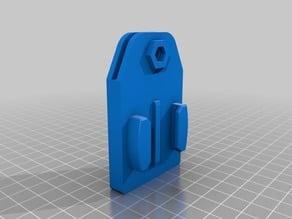 Scalar - GoPro Mount for double aluminum Heatbed
