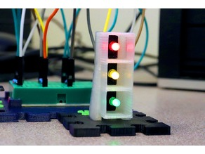 Modular LED Tower for Raspberry Pi and Arduino