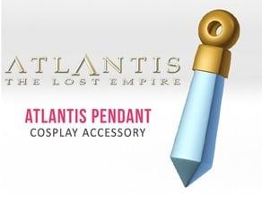 Atlantis Crystal Pendant