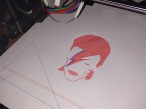 Aladdin Sane gcode drawing (for Pen Adapter)