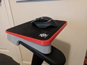 Mousepad Chair Mount