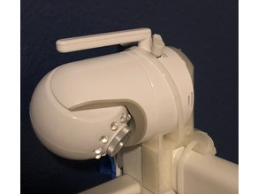 Infant Optics DXR-8 Mount for Pottery Barn Kids Emerson Crib