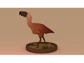 Low-Poly Terror Bird
