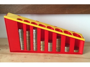 Coin sorter for UK coins (inc new £1)