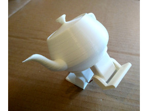 Plasteac, the robotic dancing teapot