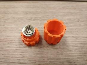 SEM sample container