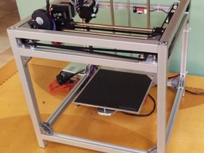 Eclips3D - High Resolution CoreXY 3D Printer