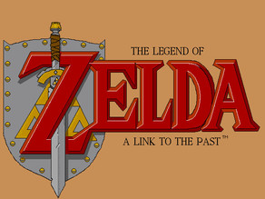 Legend of Zelda - A Link to the Past Plaque