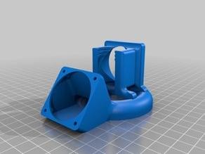 E3D V5 Fan Duct Holder For 40x40mm Fans