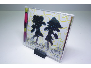 CD Case Display Stand