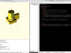 OpenSCAD Textmate Bundle
