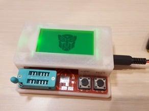 Transisotr tester (ESR meter) enclosure
