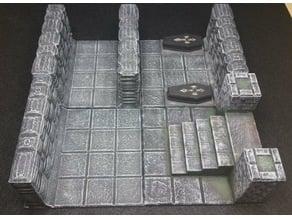 DnD Castle Ravenloft - Basic 4 x 4 Tile