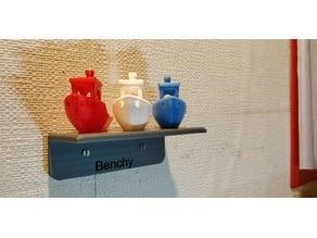Benchy on a shelf