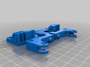 Rep,CTC Extruder Upgrade compatible with 12mm V-Bearings