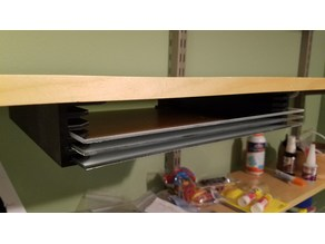 Glass Bed Shelf Bracket