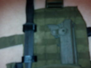 ESP Rubber Knife Molle Holder for Airsoft